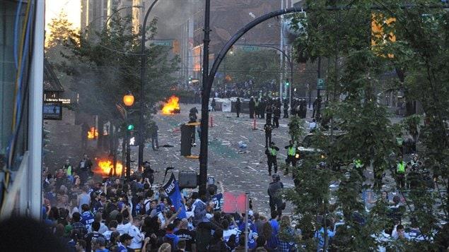 émeutes à Vancouver