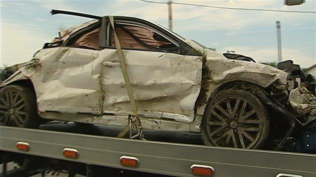 Véhicule impliqué dans un accident mortel : le conducteur avait 18 ans