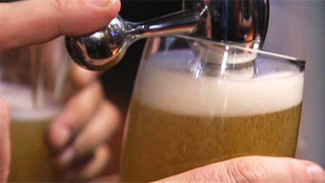 Bière pression.