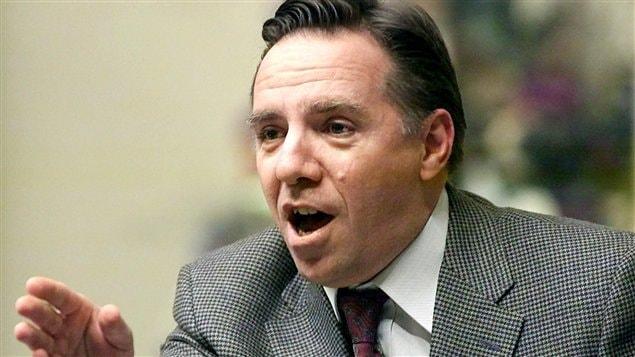 François Legault, en 2002