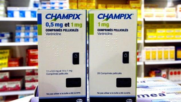 hampix, médicament pour sevrage tabagique