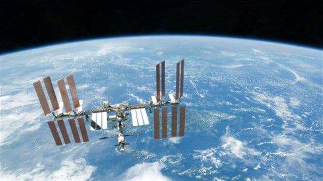 Image de la Station spatiale internationale prise le 1er août 2010