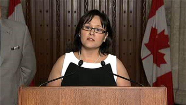 La ministre de la Santé, Leona Aglukkaq