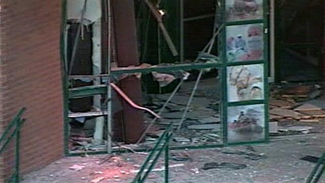 Attentat contre le centre de recrutement des Forces canadiennes à Trois-Rivières, en 2010