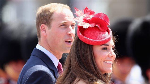 Kate et William aux célébrations du 144e anniversaire du Canada, à Ottawa.