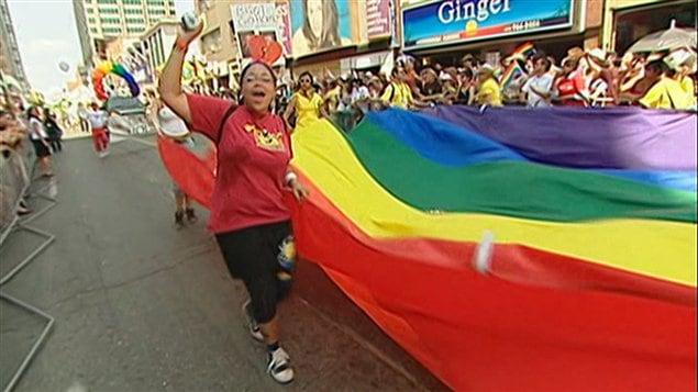Rassemblement de la Fierté gaie, à Toronto