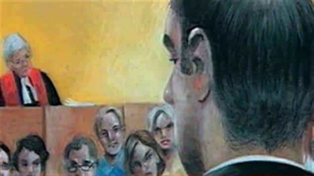 Croquis du procès de Guy Turcotte