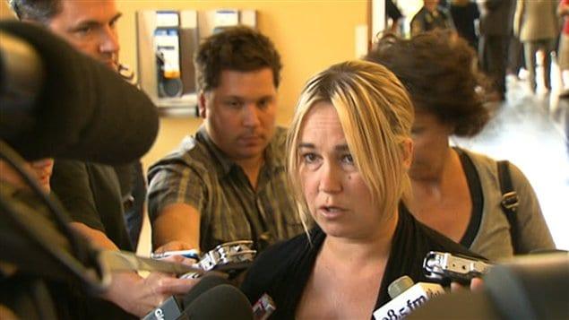 L'ex-conjointe de Guy Turcotte, Isabelle Gaston réagit au verdict