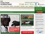 Le site de La Coalition humanitaire