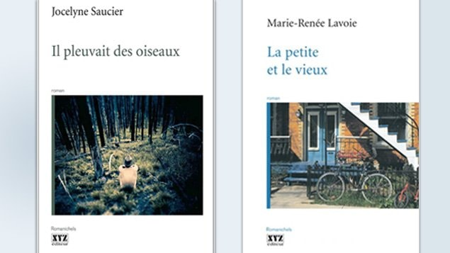 Couvertures des deux romans québécois finalistes au Prix des cinq continents de la Francophonie 2011