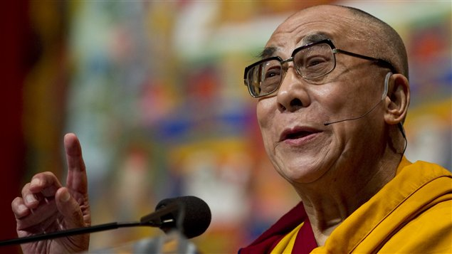 Le dalaï-lama s'est adressé à des milliers de personnes réunies au Verizon Centre de Washington mercredi.