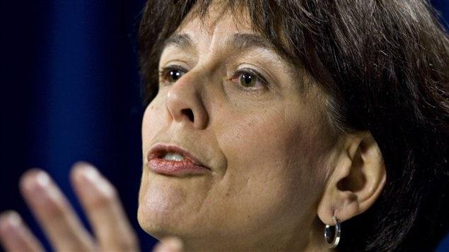 La présidente du Conseil du trésor, Michelle Courchesne
