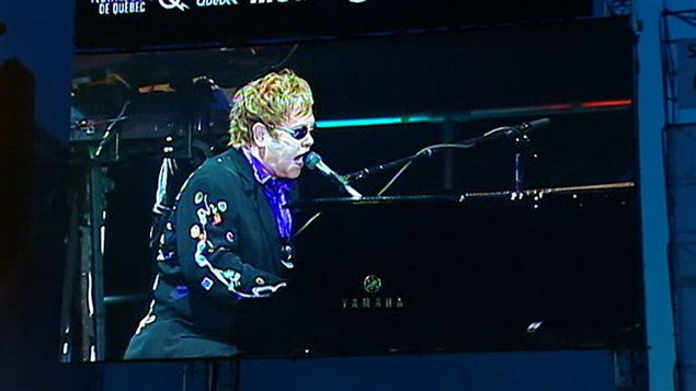 Elton John à Québec