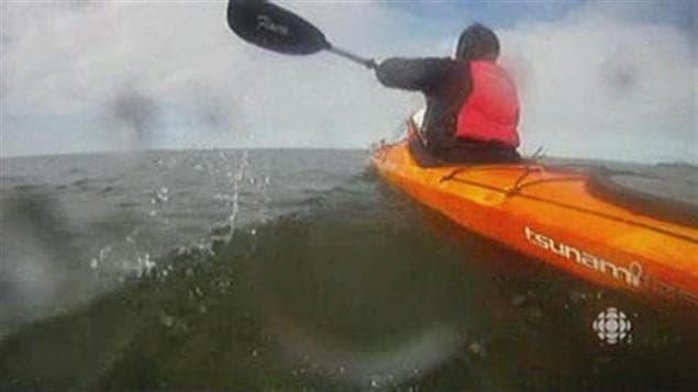 Kayak de mer dans la baie Georgienne