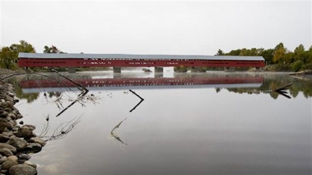 Pont couvert Félix-Gabriel-Marchand (1898) en Outaouais