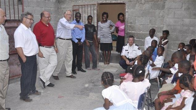 Gérald Tremblay en Haïti