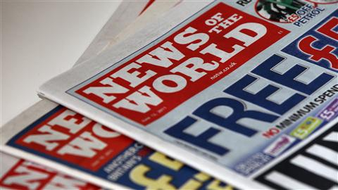 le journal News of the World