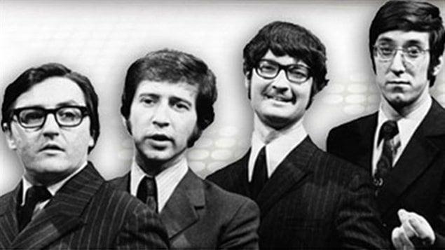 Marcel Saint-Germain, Serge Grenier, Marc Laurendeau et André Dubois au temps des Cyniques