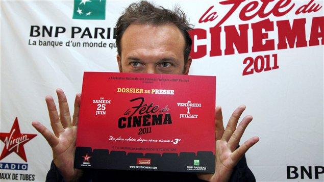 L'acteur français Vincent Perez, lors de la Fête du cinéma, le 8 juin 2011 à Paris