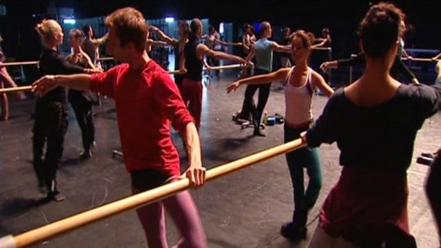 Les Grands Ballets canadiens, en répétition à Pékin