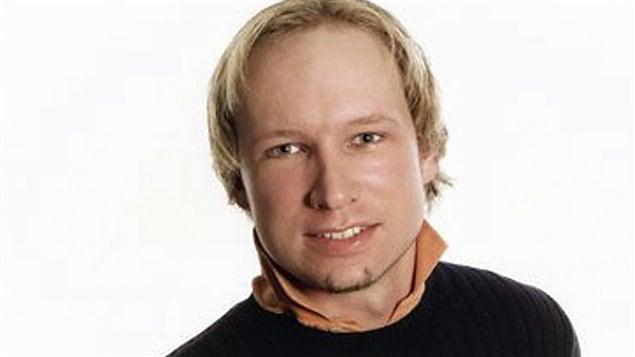 Photo du suspect, présenté par les medias norvégiens comme Anders Behring Breivik