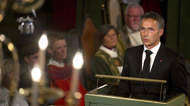 Allocution du premier ministre Jens Stoltenberg