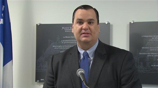 Le ministre du Patrimoine canadien, James Moore
