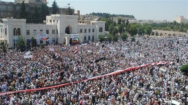 La manifestation Hama