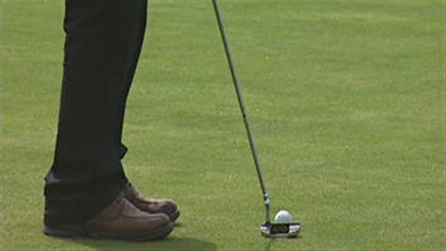 C'est la saison du mini-golf.
