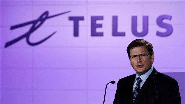 L'ancien PDG de Telus, Darren Entwistle, reprend ses fonctions.