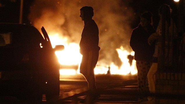 Émeutes à Manchester