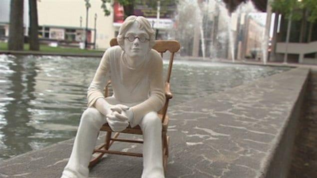 La sculpture de Fred Pellerin