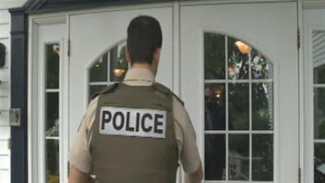 Les policiers de la Sûreté du Québec sont intervenus dans une rencontre chez Enerfin.