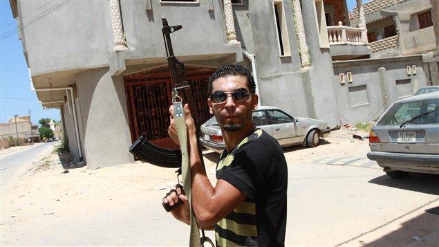 Rebelle libyen