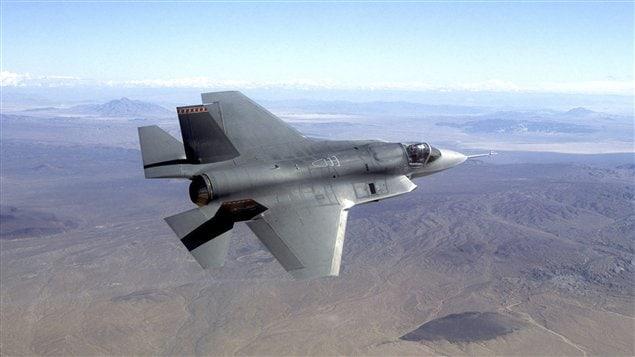 Heroux-Devtek participe à la construction du nouveau F-35
