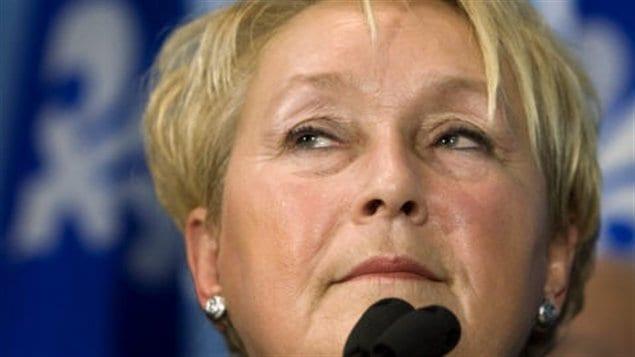 Pauline Marois, chef du Parti québécois