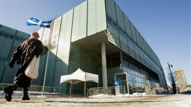 La Grande Bibliothèque à Montréal