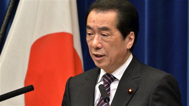 Le premier ministre démissionnaire du Japon, Naoto Kan