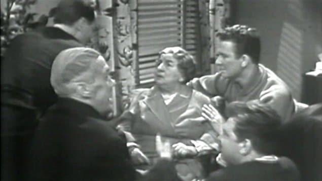 Une image du téléroman La famille Plouffe
