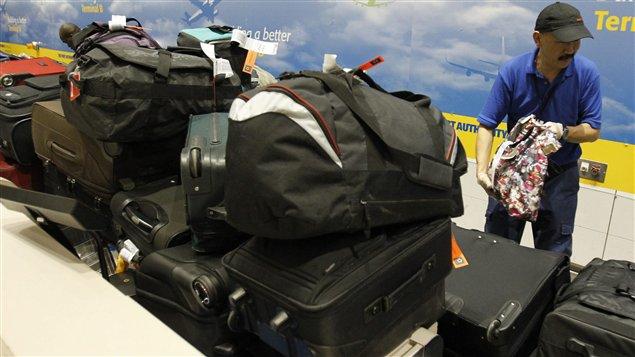 Bagages à l'aéroport
