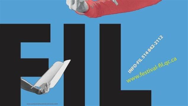 Affiche du Festival international de la littérature