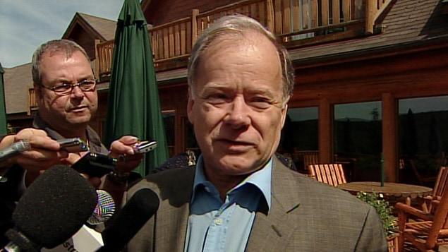 Le ministre québécois des Finances, Raymond Bachand