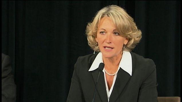 La ministre du Travail Lise Thériault