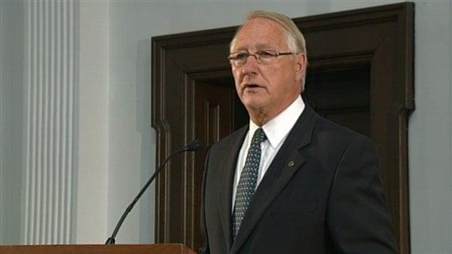 Gérald Tremblay, maire de Montréal