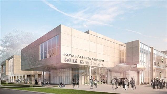 Le plan présenté par Ledcor pour la construction du nouveau Musée royal de l'Alberta.