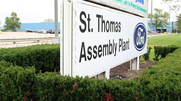 Usine de Ford à St. Thomas