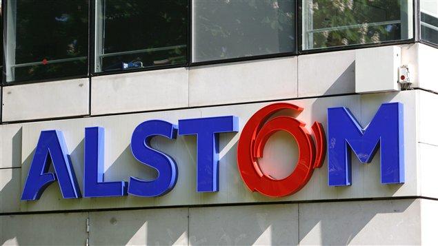 Les bureaux français d'Alstom, à Levallois-Perret, près de Paris