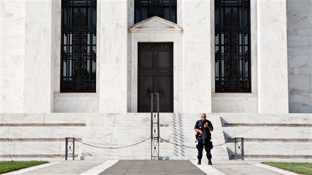 Le siège de la Fed à Washington.
