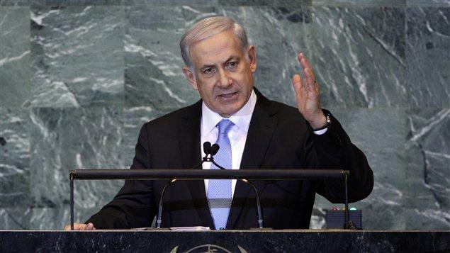 Le premier ministre israélien Benjamin Nétanyahou à l'Assemblée générale de l'ONU