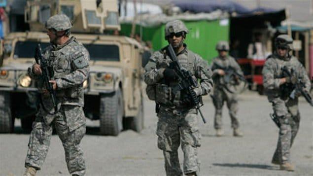 Soldats américains à Kaboul (archives)